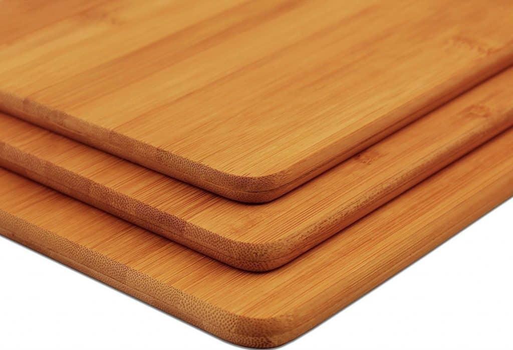 Bamboo Cutting Board 3pc set By Utopia Kitchen