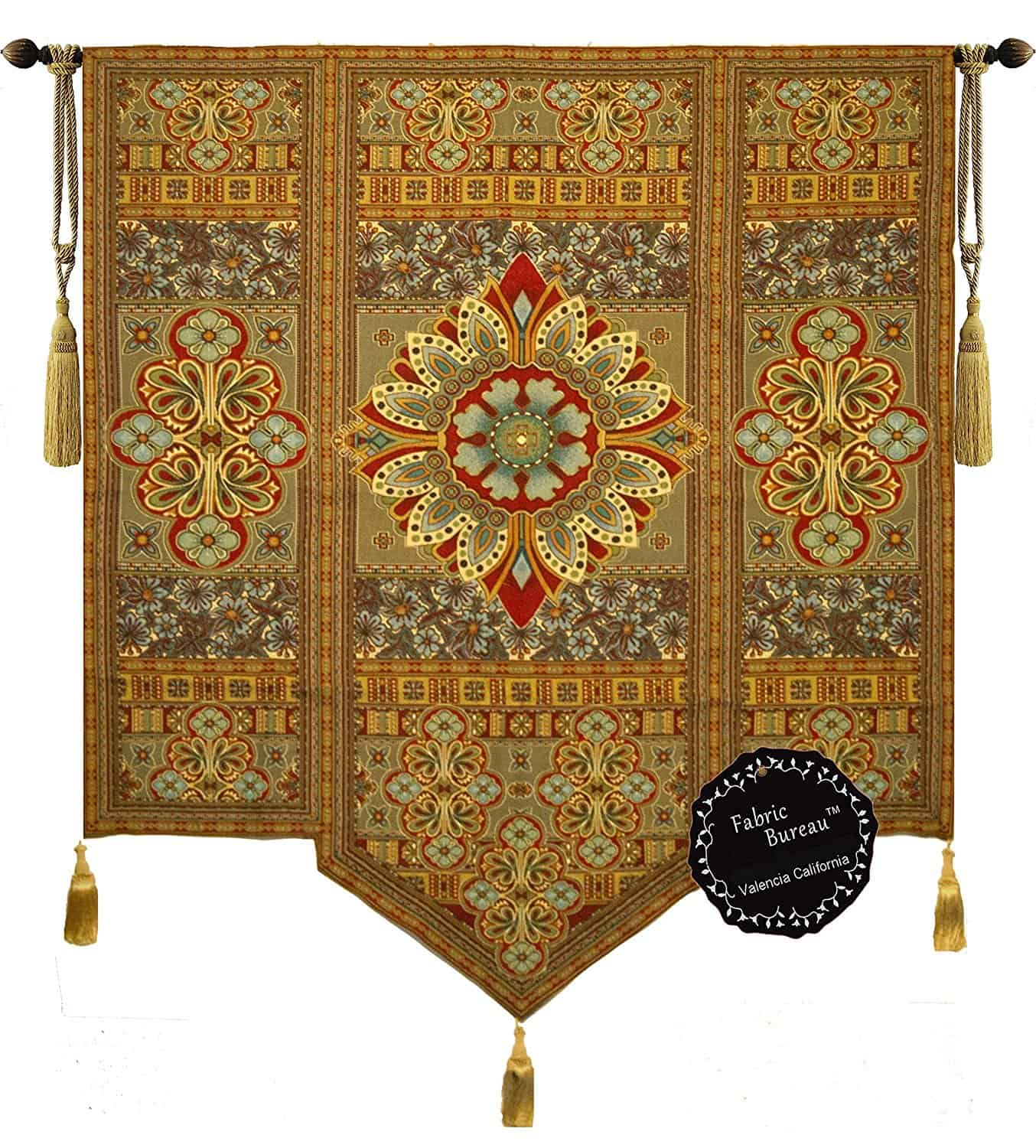 Beautiful Road to Moroccan Large Fine Tapestry Jacquard Woven Wall Hanging Art Decor