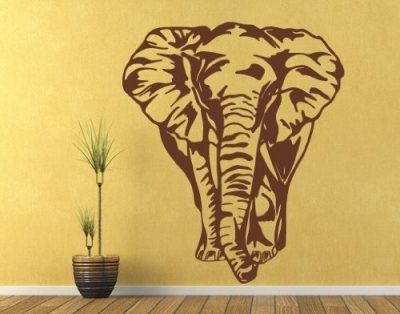 Big Elephant Wall Decal by Style & Apply