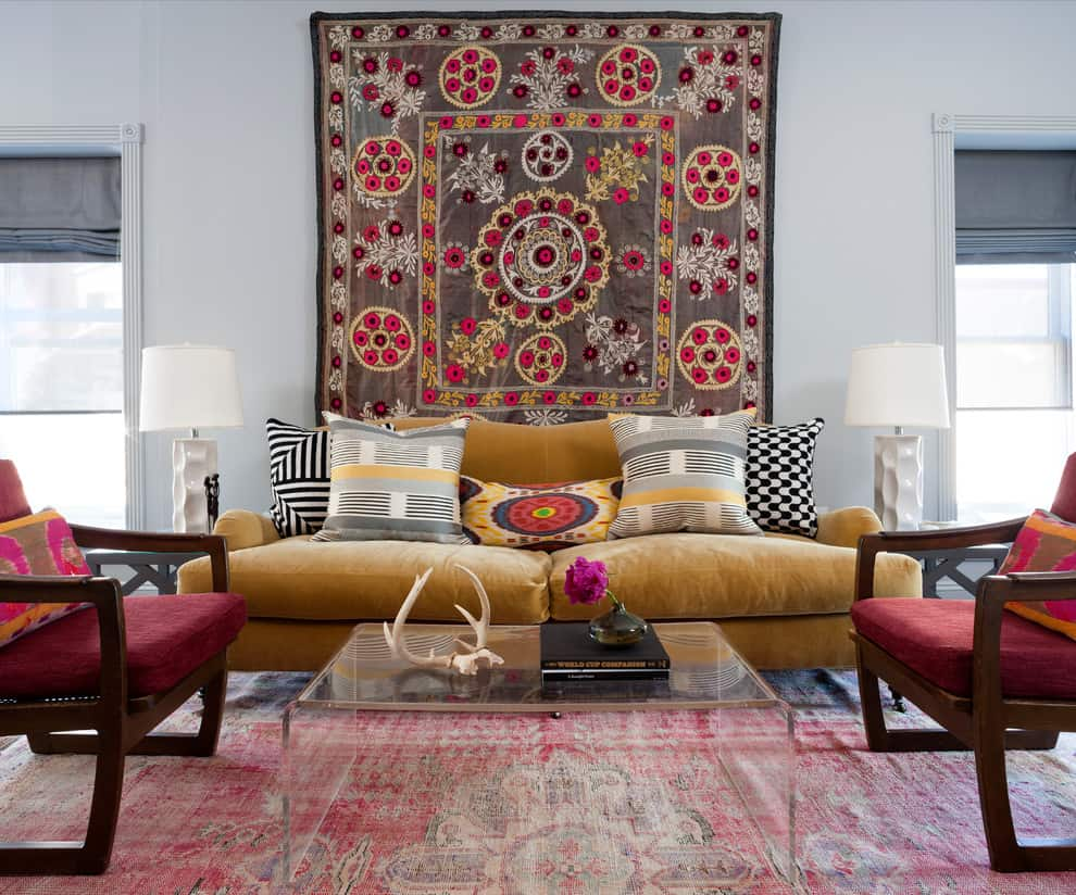 bohemian (boho) home decor ideas - time to get wild!