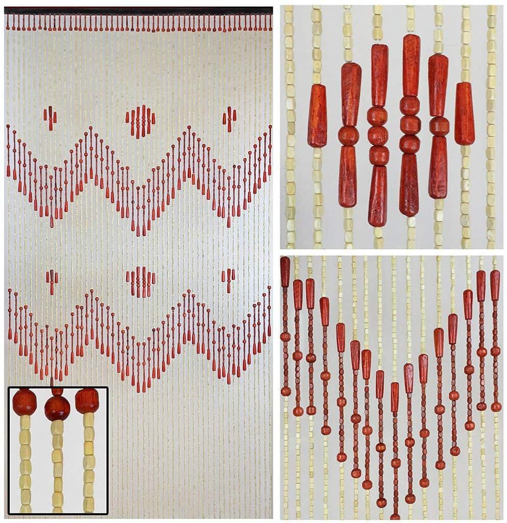 Boho Door Beads-Bohemian Doorway Curtain