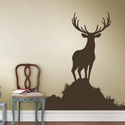 Buck Wall Decal Animal Wall Sticker