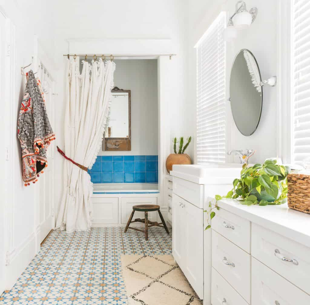 can you paint vinyl flooring in a bathroom decor snob. Black Bedroom Furniture Sets. Home Design Ideas