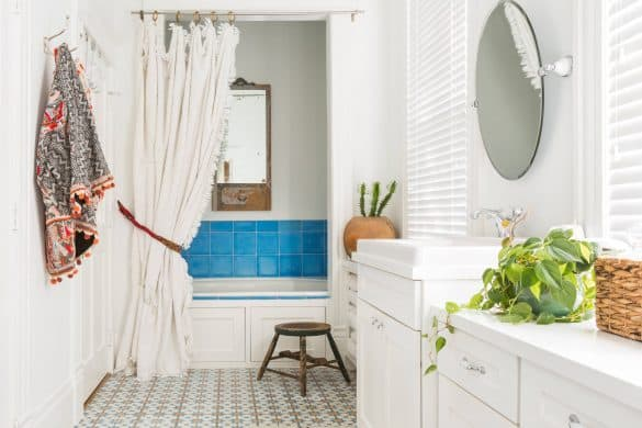 4 popular wood paneling cover up ideas secret tips for Can you use vinyl flooring on bathroom walls