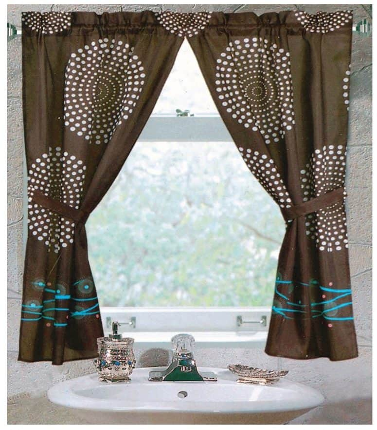 Carnation Home Fashions Hanover Fabric Window Curtain
