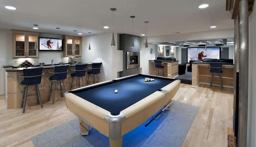 Cool Unfinished Basement Remodeling Ideas Cool Unfinished