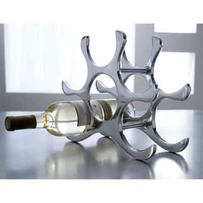 Countertop Wine Rack, 6 Bottle Holder