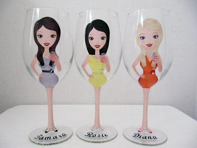 Create a Character Wine Glasses