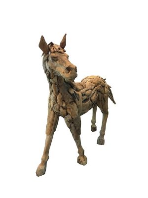 D-ART Drift Wood Horse Statue