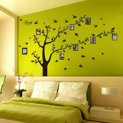 40 Great Wall Decor Sticker Ideas for your Home | Decor Snob