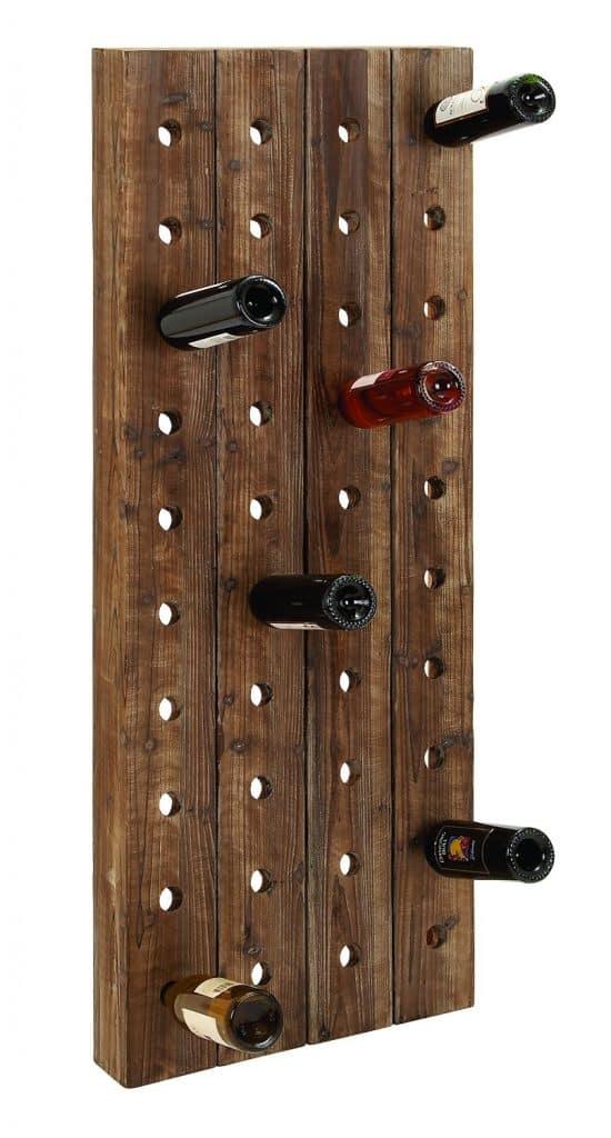Deco 79 Wood Wine Rack