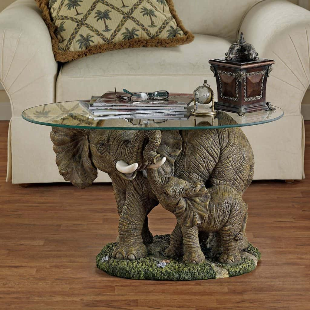 40 elephant decor ideas huge art for your walls Elephant home decor items