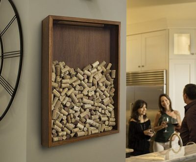 Wine Cork Holder Wall Decor wine home decor & wine kitchen decor ideas | decor snob