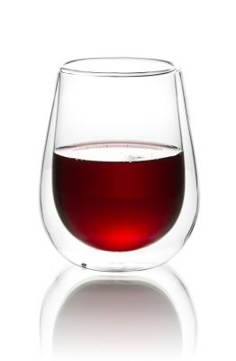 Double-wall Stemless Wine Glass
