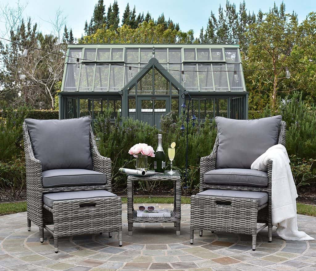 ELLE Décor Vallauris Outdoor 5-Piece Set