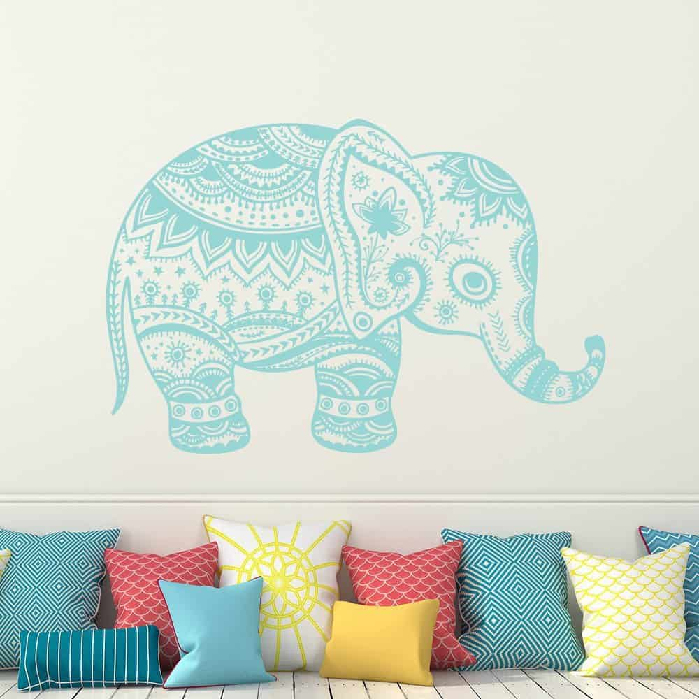 Elephant Wall Decal Vinyl Stickers