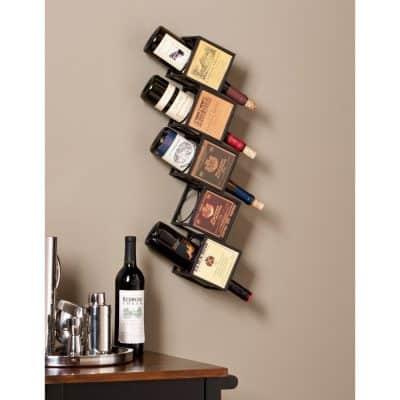 Evora Wall Mount Wine Rack