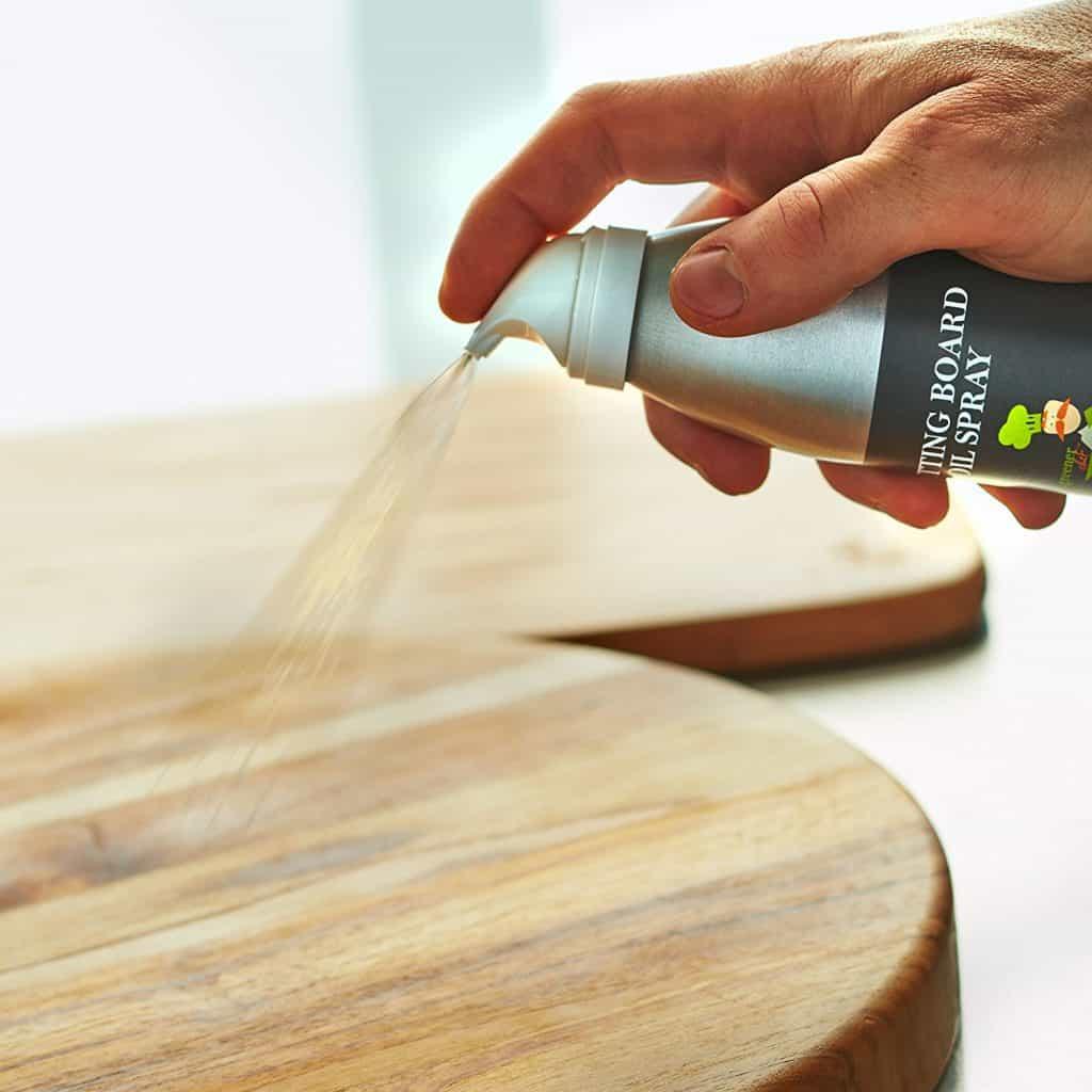 Food Based Cutting Board Oil & Butcher Block Oil Spray