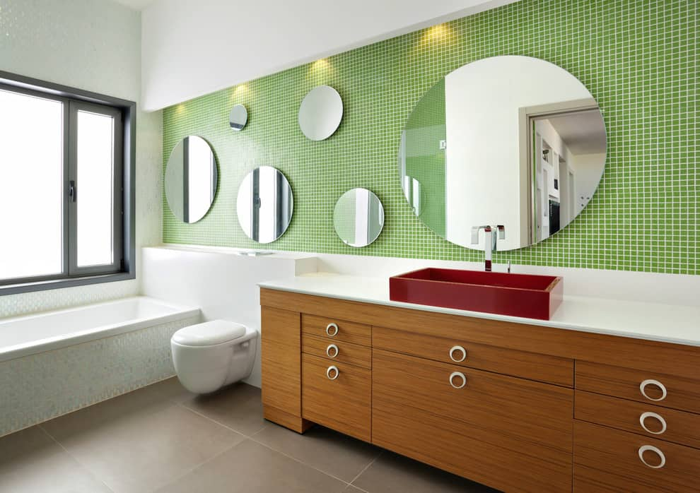 Fun Bathroom Mirror Ideas