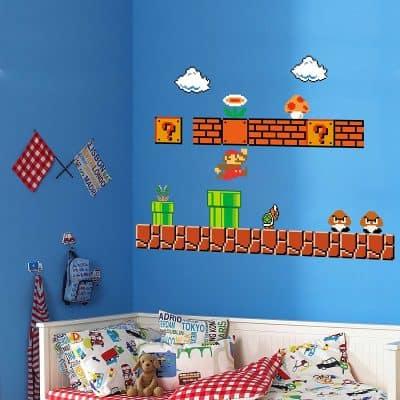 Giant Super Mario Build a Scene