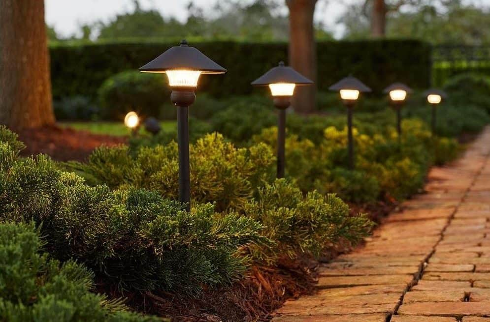 Captivating Hampton Bay Low Voltage Bronze Outdoor Integrated LED Light Kit