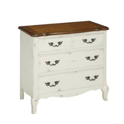 Home Styles 5518-41 The French Countryside Drawer Chest, OakRubbed White