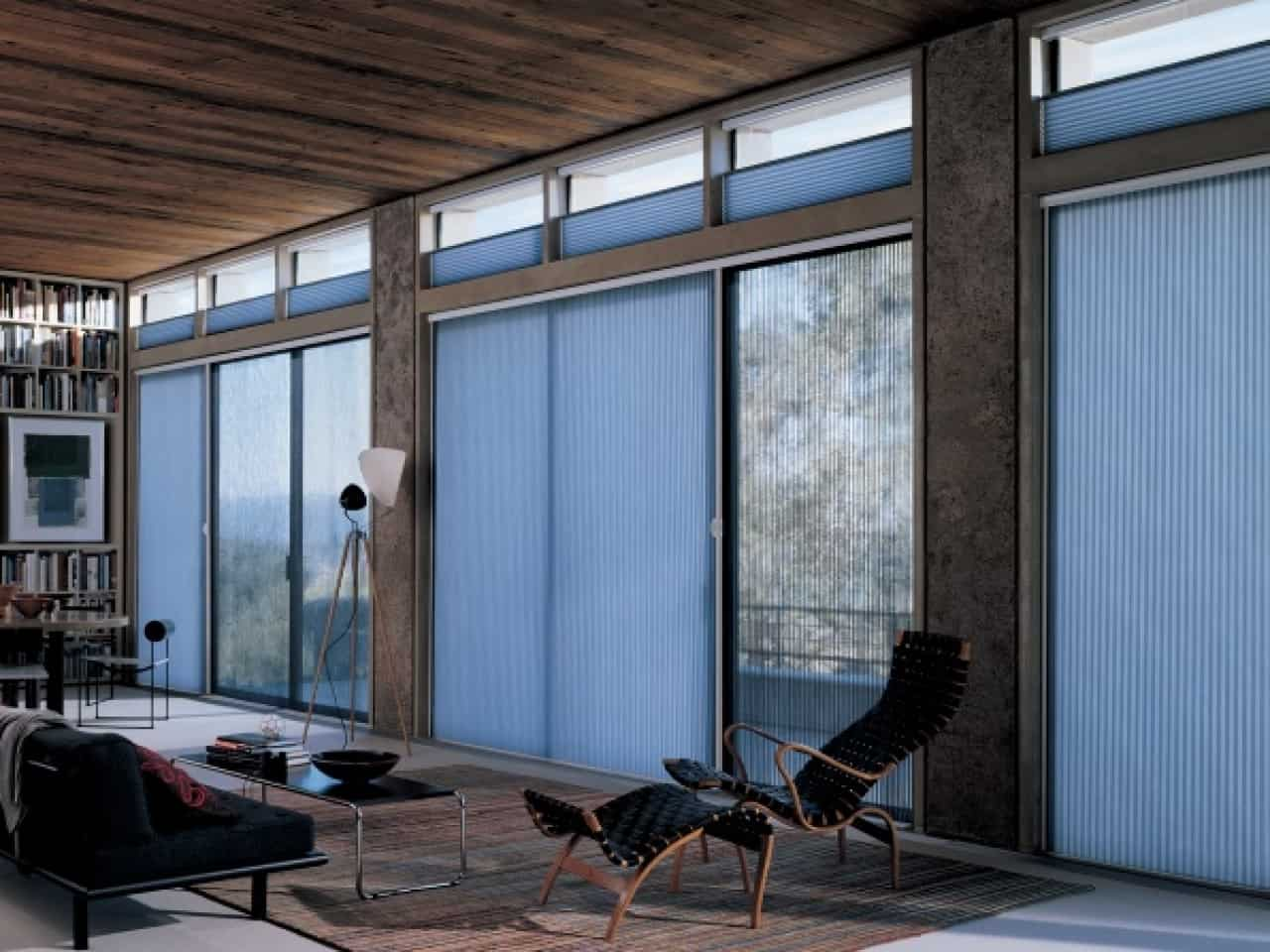 Window treatments for sliding glass doors ideas tips for Best shades for windows