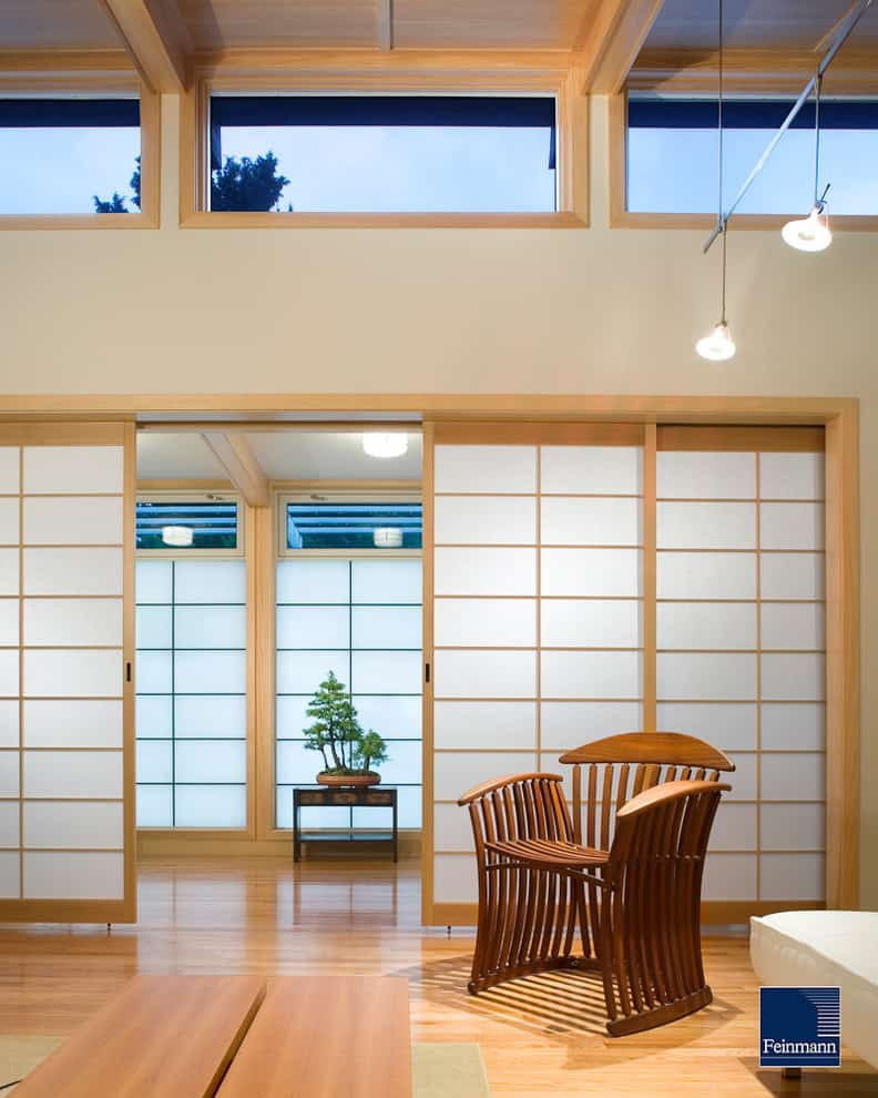 Japanese sliding doors and room divider ideas decor snob for Japanese office interior design