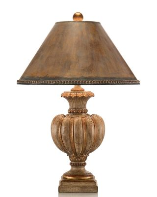John Richard Fluted Tuscan Cream Urn Lamp JRL-8023