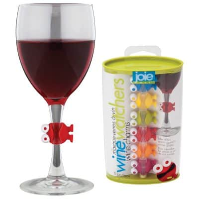 Joie Wine Watchers Cocktail and Wine Glass Charms
