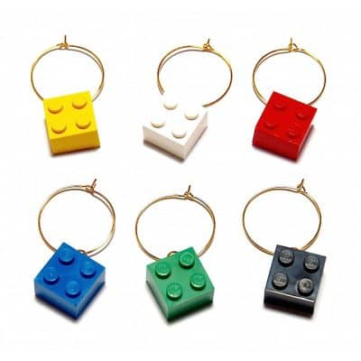 LEGO® Wine Glass Charms