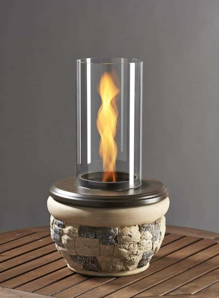 Ledgestone Tabletop Firepit