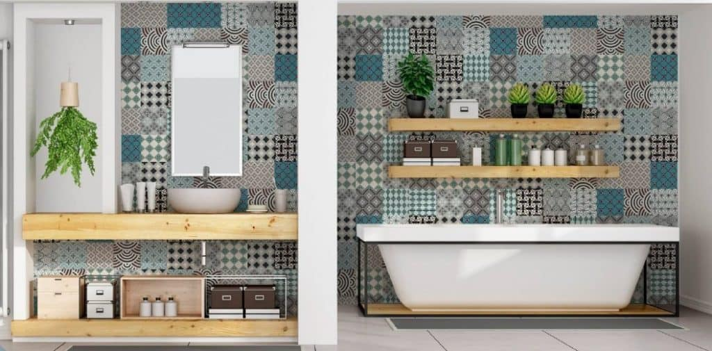 MENTA Decorative Tile Stickers