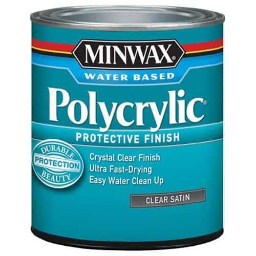 Minwax 233334444 Minwaxc Polycrylic Water Based Protective Finishes