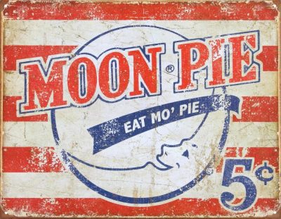 Moon Pie - Eat Mo' Pie Tin Sign