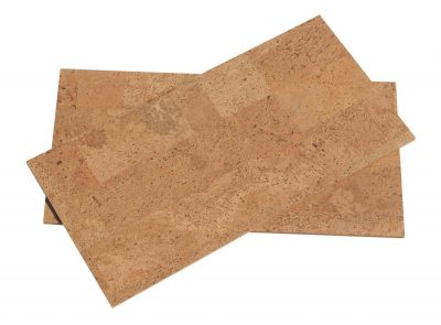 Natural cork flooring - Leather 8mm cork tiles (18sf)