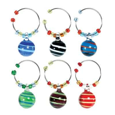 Oenophilia Wine Glass Charms