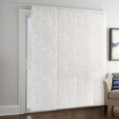 Good Housekeeping Light Filtering Panel Track  Curtains For Sliding Glass Doors