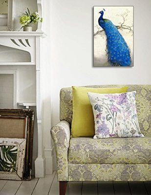 40 peacock decor ideas, art, accessories, & furniture (photos)