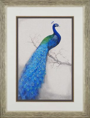 Paragon Peacock Blue I by O'Toole Traditional - 52 X 40