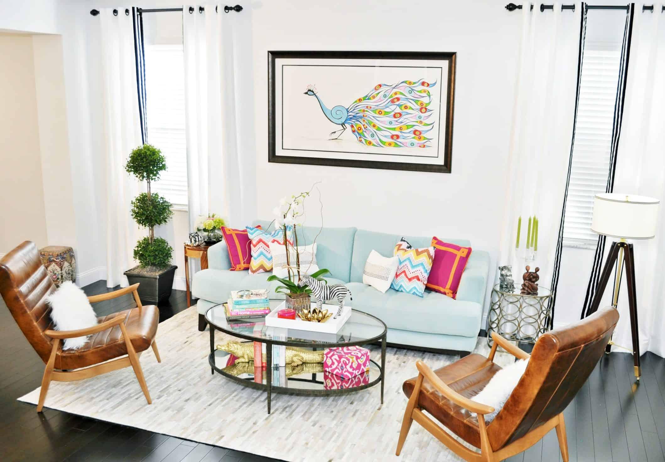 Peacock Living Room Decor 40 Peacock Decor Ideas Art Accessories Furniture Photos