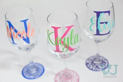 Personalized Wine Glasses - Custom Wine Glasses