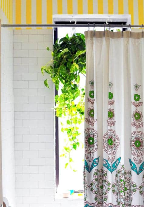 3 panel window curtains