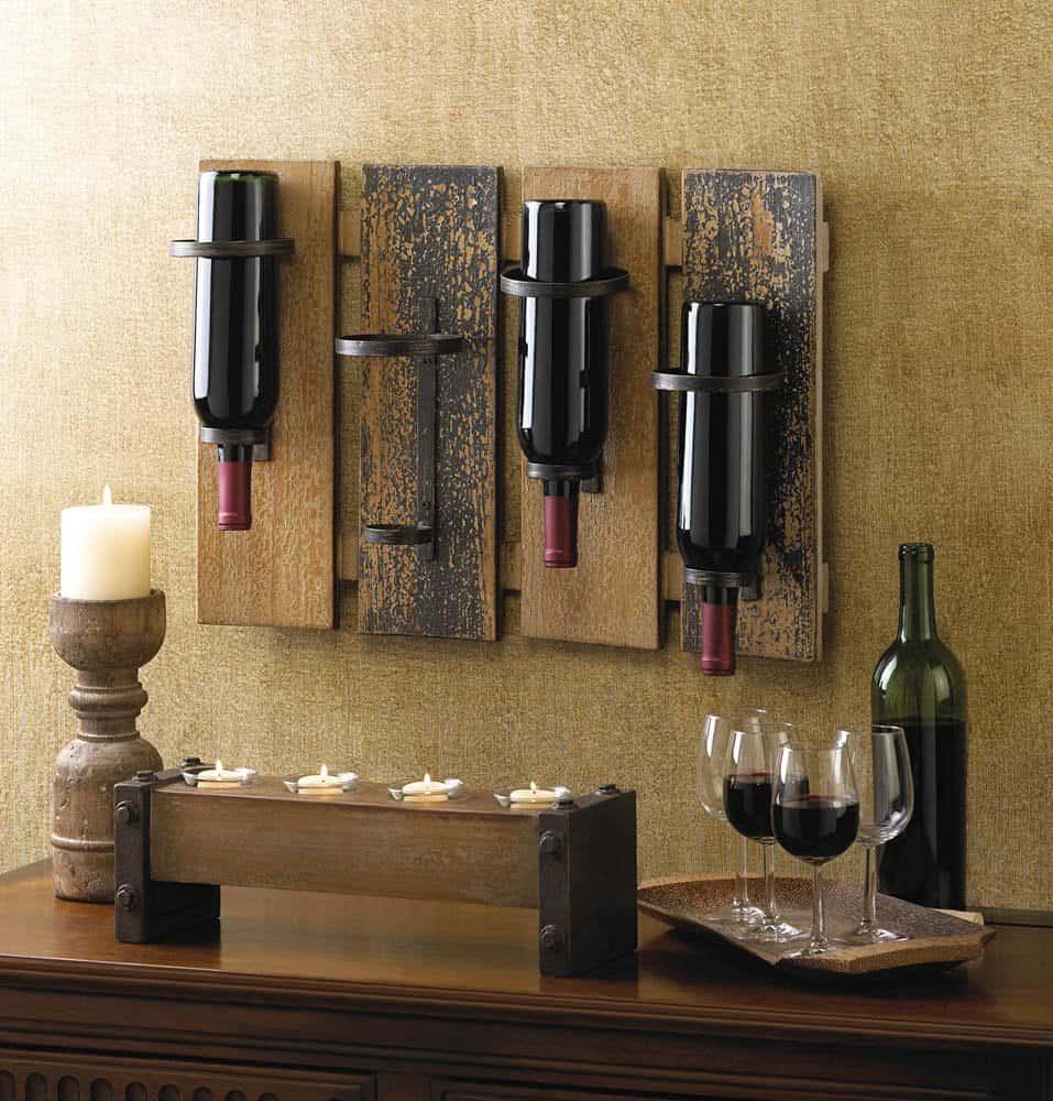 100 creative wine racks and wine storage ideas ultimate. Black Bedroom Furniture Sets. Home Design Ideas