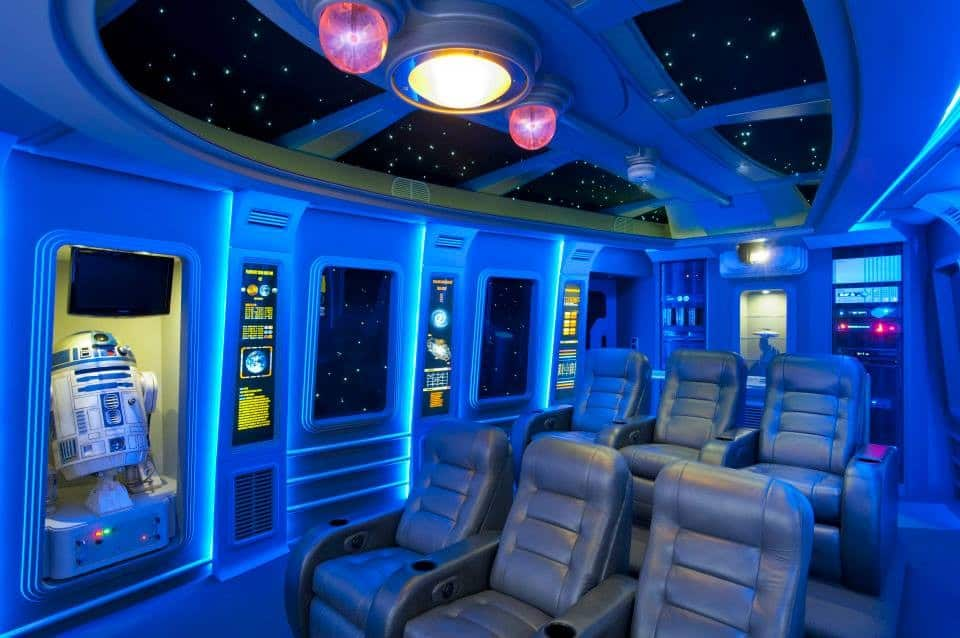 Star Wars Theater Room