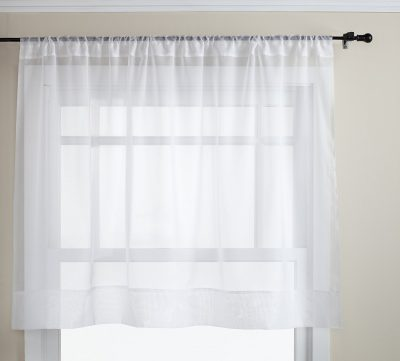 Stylemaster Elegance 60 by 36-Inch Sheer Voile Panel