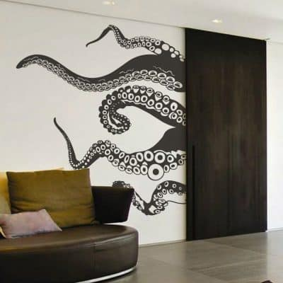 BestGrew® Huge Zabra Vinyl Wall Sticker