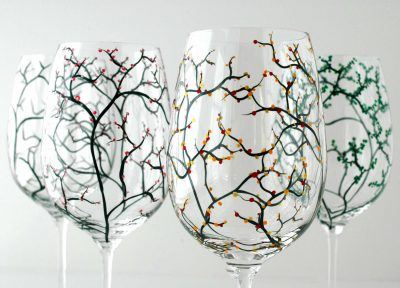 The Four Seasons Glasses