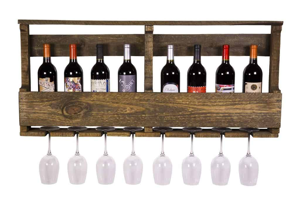 The Original Wine Rack, USA Handmade Reclaimed Wood