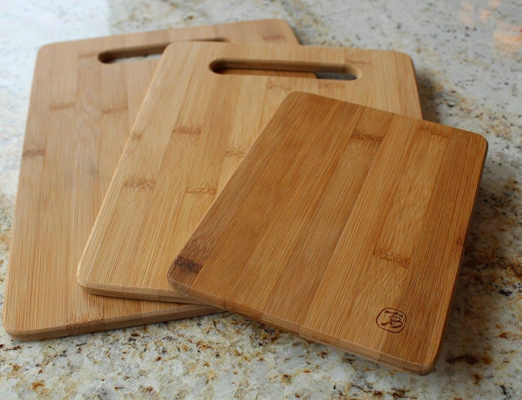 Totally Bamboo Original Bamboo Cutting & Serving Board 3 Piece Set